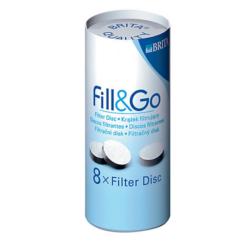 Brita Fill & Go szűrő korong 8db (RÉGI FILL & GO kulacsokhoz)