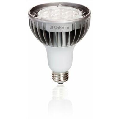 LED izzó, PAR30, E27-es foglalat, 580lm, 12W, 2700K, meleg fény, szabályozható, VERBATIM