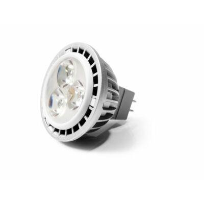 LED izzó, MR16, GU5.3-as foglalat, 460lm, 7W, 2700K, meleg fény, szabályozható, VERBATIM