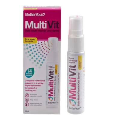 BETTERYOU MULTIVITAMIN SZÁJSPRAY 25ml
