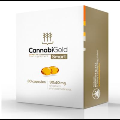 CannabiGold Smart CBD kapszula 30 db (300 mg CBD)