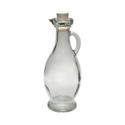 Üvegkancsó parafa dugóval 250 ml