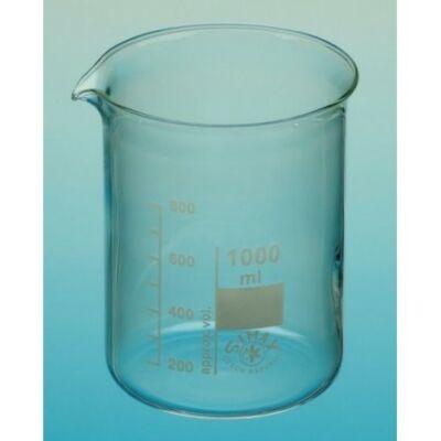 Üveg főzőpohár 1000 ml