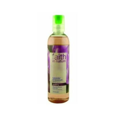 Levendula és geránium sampon - Faith in Nature (250ml)