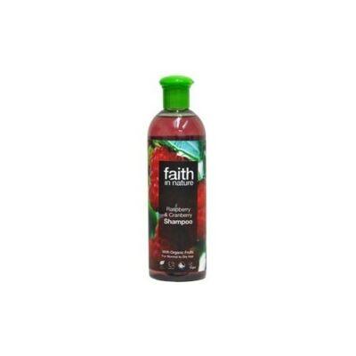 Málna és vörösáfonya sampon - Faith in Nature (250ml)