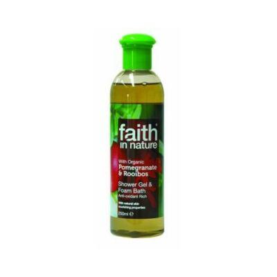 Bio Gránátalma és Rooibos Tusfürdő - Faith in Nature (250 ml)