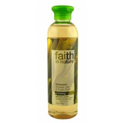 Bio Tengeri Hínár tusfürdő - Faith in Nature (250 ml)