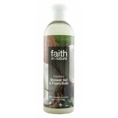 Kókusz tusfürdő - Faith in Nature (250ml)