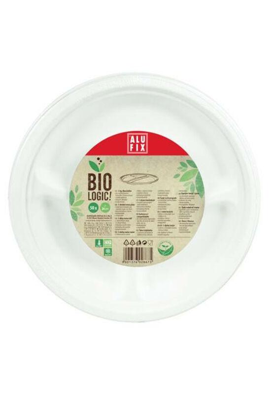 """Menü tányér, 26 cm, 3 részes, ALUFIX, """"BioLogic"""""""