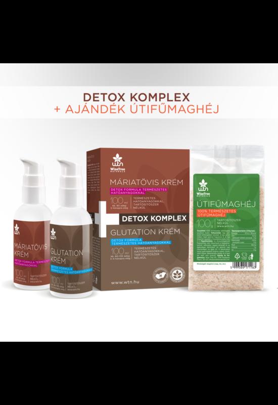 WTN Detox komplex (Máriatövis krém 100 ml+Glutation krém 100 ml) - Wise Tree Naturals